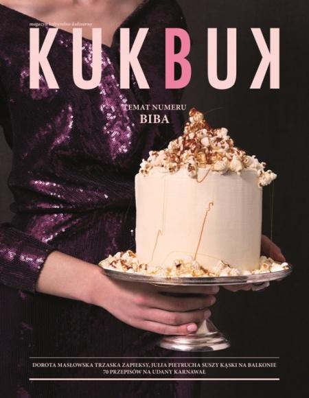 """Trzynasty, karnawałowy numer KUKBUK-a już w sprzedaży! Styl życia, LIFESTYLE - Na półki w dobrych salonach prasowych trafił właśnie karnawałowy numer KUKBUK-a, którego tematem i motywem przewodnim jest """"BIBA"""". Kulturalno-kulinarny magazyn kończy dwa lata."""