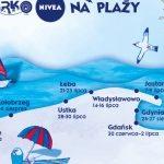 Zdrowe i aktywne opalanie z Podwórkiem NIVEA na plaży