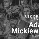 W Słupsku będą bić Rekord Polski w grupowym czytaniu Adama Mickiewicza