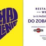 16 października startuje największy w Polsce festiwal kulinarny Restaurant Week
