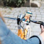 Ze smartfonem na rowerze, czyli nowy uchwyt od Hamy