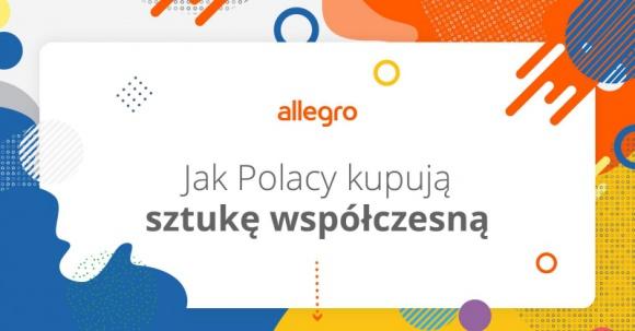 Polacy coraz chętniej kupują dzieła sztuki w Internecie Sztuka, LIFESTYLE - Z roku na rok rośnie liczba osób zainteresowanych sztuką. Jak wynika z badania SW Research dla Allegro, jeden na czterech przebadanych Polaków ma w swoim domu dzieło współczesnego artysty. Aż 69% z nich kupiło je przez internet.